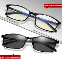 Anti Blue Light Computer Glasses Photochromic Sunglasses Wom