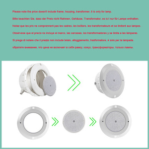 Image 5 - RGB Swimming Pool Light 12v Expoxy Filled Surface PAR56 Replacement Piscinas 18W 24W 30W 35W 42W pure white warm white