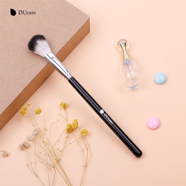 DUcare Makeup Brushes Goat Hair highlighter Brush Cosmetic Powder Blending Makeup brushes Eyebrow Eyeshadow Brush Makeup Tools 5