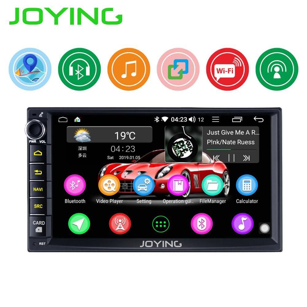 Image 2 - Android car radio head unit universal 2 din 7 inch touch screen car stereo for Honda/Nissan/Toyota GPS HD car multimedia playerCar Multimedia Player   -