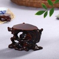 컬렉션 단단한 나무 기지/나무 조각/꽃병 장식품/뿌리 기본 홈 장식품 선물