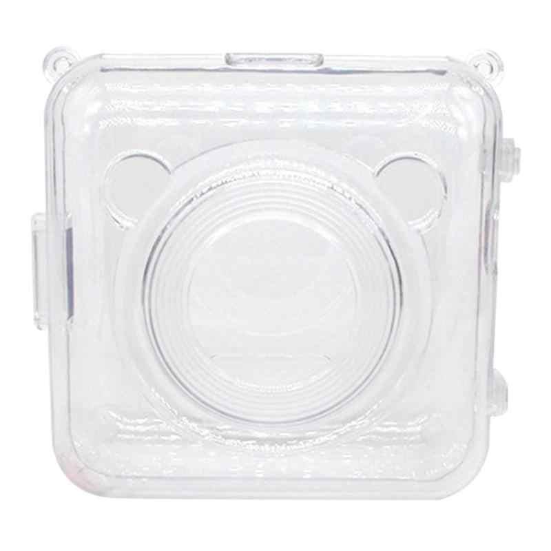 透明 PC 保護カバーバッグ旅行ポケット Peripage 紙フォトプリンタ用のキャリングケース