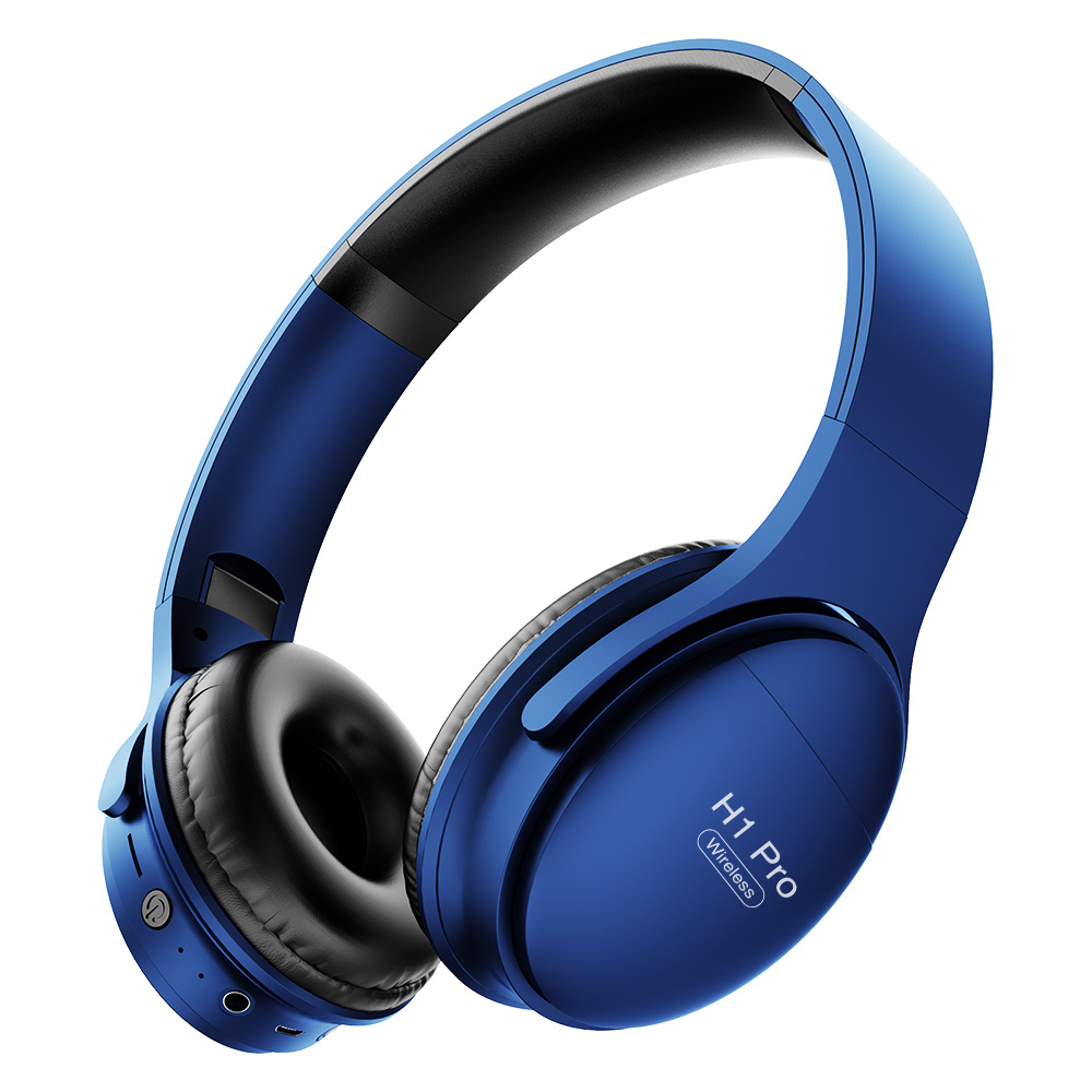 H1 Pro Gaming Wireless Headsets Bluetooth 5.0 HD Stereo Noise Canceling Support TF Card Slot Foldable Headphones For IOS Android