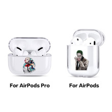 Movie Joker Batman Comic Wireless Earphone Case For Apple iPhone Charging Box For AirPods Pro Hard Transparent Protective Cover