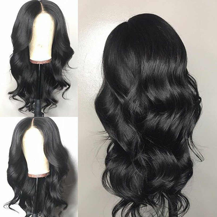 Body wave lace front human hair wigs for black women brazilian Short Long Natural Afro Wavy wig pre plucked Remy Hair FirstWig