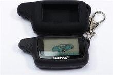 러시아 CENMAX ST 8A + 8A 실리콘 키 케이스 자동차 보안 CENMAX ST 8A 양방향 알람에 대 한 원격 제어와 양방향 LCD 키 체인