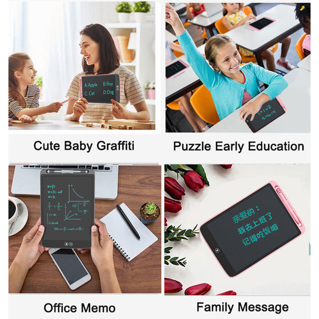 ZhiXiaoGuai 10 Inch LCD Writing Board Drawing Tablet Handwriting Pads Electronic Graffiti Tablet Childrens Toys