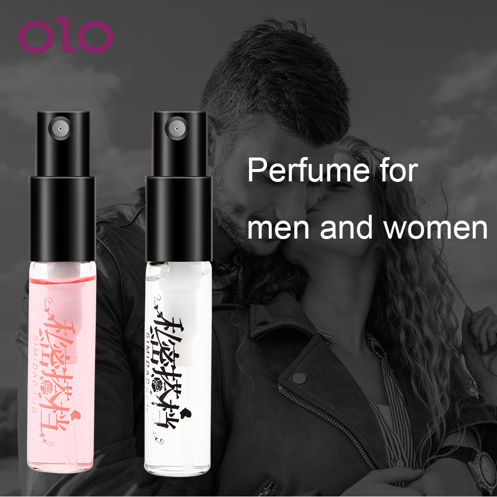 OLO 3ML Flirt Perfume For Men Aphrodisiac Attract Women Water Lubricants Woman Orgasm Body Spray Pheromone Perfume