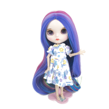 Muziwig  bjd factory blyth doll wig normal joint body special offer lower price DIY girl doll gift for doll wig free shipping top discount 4 colors big eyes diy nude blyth doll item no 0 doll limited gift special price cheap offer toy
