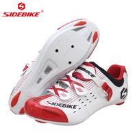 Sidebike road obuwie rowerowe odporne na zużycie przeciwpoślizgowe oddychające outdoor sports mężczyźni blokada rowerowa buty w Buty rowerowe od Sport i rozrywka na