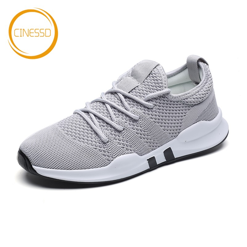 CINESSD Breathable Mesh Running Shoes Lightweight Outdoor Sneakers Cushioning Jogging Trainers Comfortable Walking Sports Shoes