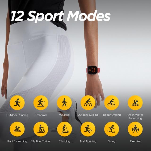Global Version Amazfit GTS Smart Watch 5ATM Waterproof Swimming Smartwatch NEW 14Days Battery Editible Widgets for Xiaomi 4