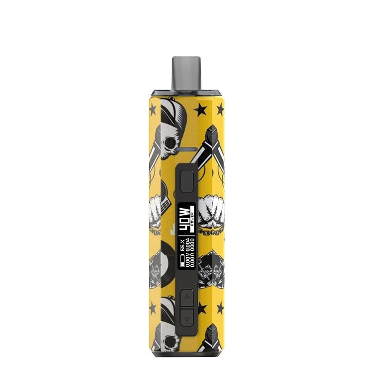 Original Hugo Vapor Boxer AIO 40w Pod Mod Kit 1500mAh Battery Vs RPM40 Kit 6