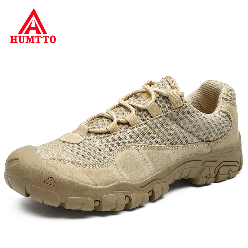Promo Luxury Brand Non-slip Wear-resistant Outdoor Casual Sneakers Breathable Mesh Light Mens Shoes Fashion Big Size Lace-up Shoes Men