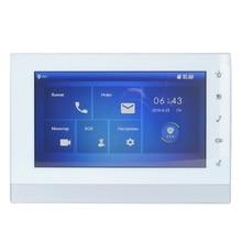 DH logo Multi-Language VTH1550CH 7-inch Touch Indoor Monitor,International verision, IP doorbell, Video Intercom,wired doorbell