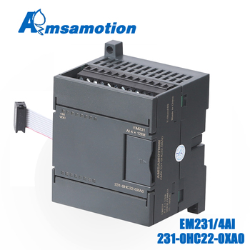 цена на EM231 6ES7 231-0HC22-0XA0 Amsamotion 4AI*12Bit Extension Module For Siemens S7-200 PLC 4Channel Input Analog Module