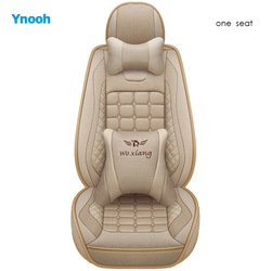 Ynooh pokrowce na siedzenia samochodowe dla toyota prado 120 camry 40 land cruiser 100 fortuner rav4 2018 corolla 2005 aygo alphard ochraniacz samochodu