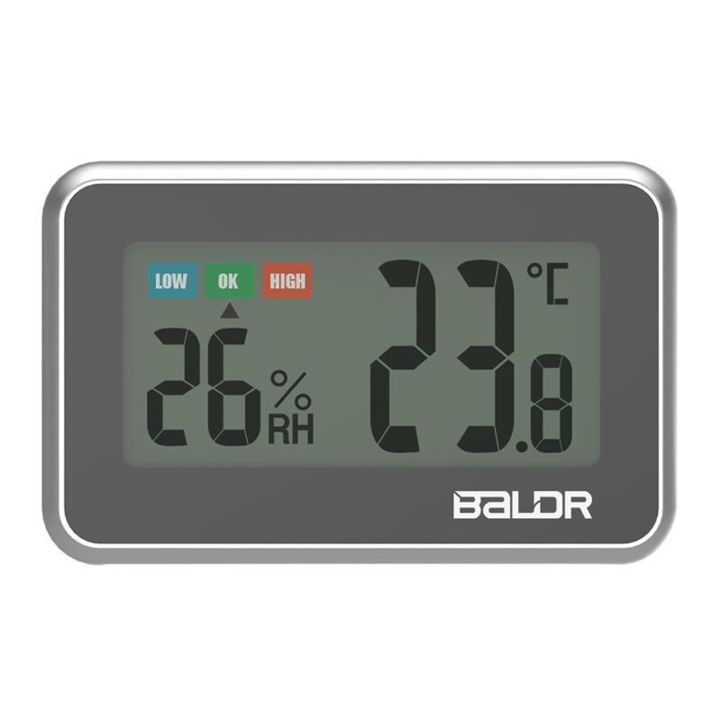 10 pièces de haute précision Mini intérieur numérique LCD thermomètre pratique hygromètre avec Indication de confort température humidité