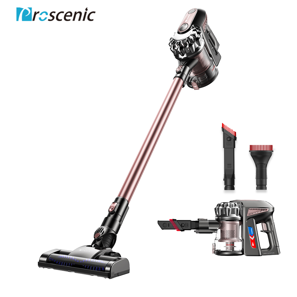 Proscenic P8 PLUS 15000Pa Protable Handheld Wireless Vacuum Cleaner For Home Cordless Carpet Cleaner Cyclone Dust Collector