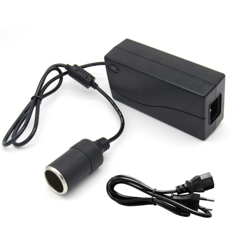 Car Inverter 100V 220V To 12V Car Cigarette Lighter Converter Power Adapter Home Car Dual Use Socket