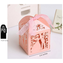 Lovers Box Die Couple Metal Cutting Dies New 2019 for Scrapbooking Gift Candy Greeting Card Wedding Decoration Cutter