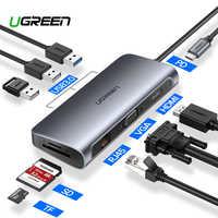 Ugreen USB HUB C HUB per Multi USB 3.0 HDMI Dock Adapter per MacBook Pro Accessori USB-C Tipo C 3.1 splitter 3 Port USB C HUB