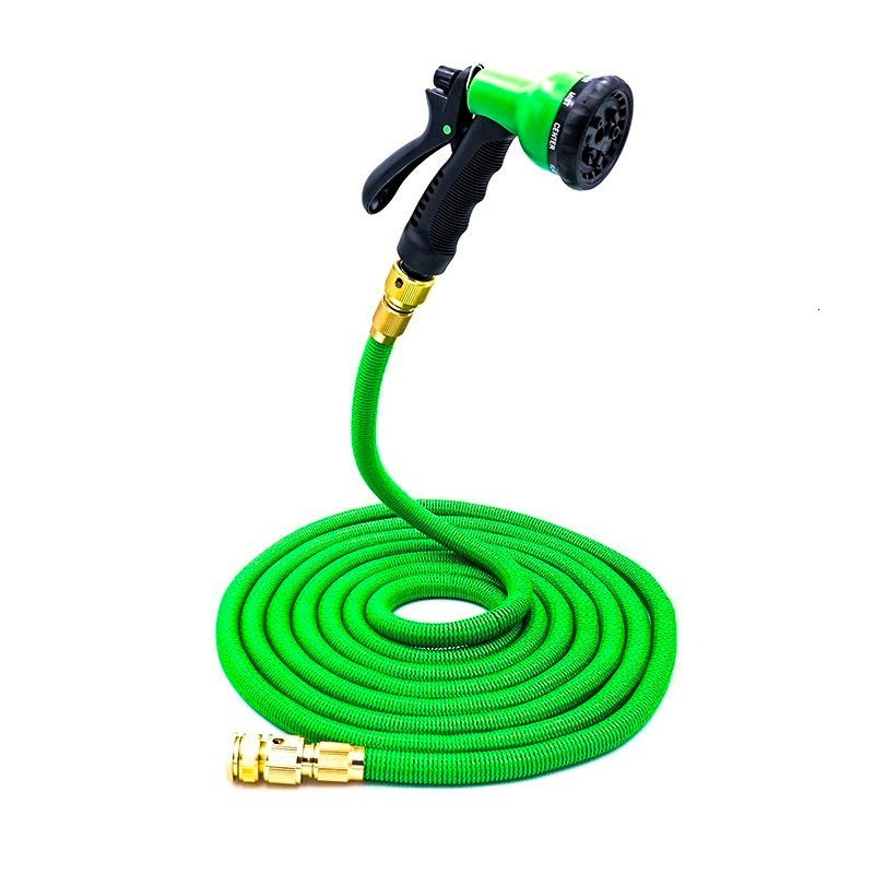 H66497a11a8c54290adac9f9597eb4c35r Free shipping 25Ft-200Ft Garden Hose Expandable Magic Flexible Water Hose Eu Hose Plastic Hoses Pipe With Spray Gun To Watering