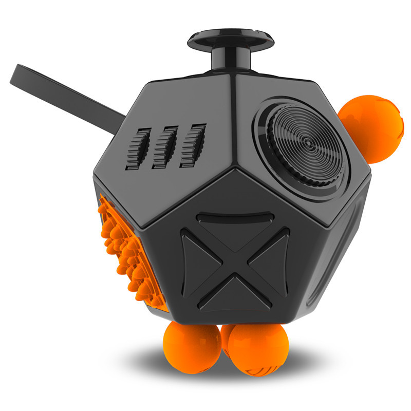Fidget-Cube-Toys EDC Anti-Stress Autism Hand Relief-Focus ADHD Anxiety for Kids 12-Sides img1