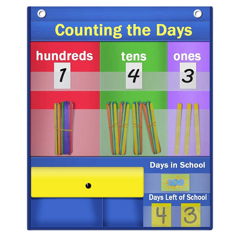 Counting Caddie And Place Value Pocket Chart For Lassroom Home School Children Educational