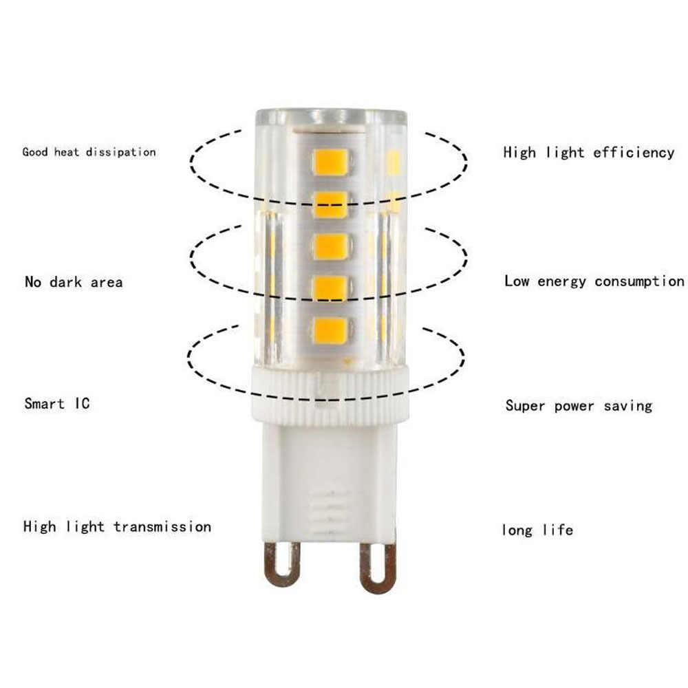220V Ampul LED G9 5W 7W 9W Tidak Ada Flicker SMD 2835 G9 Lampu LED Rumah Lampu lampu Gantung Lampu Sorot Ganti Lampu Halogen Bombillas