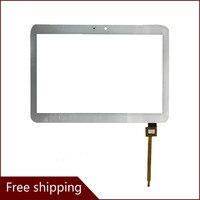 """새로운 10.1 """"Wexler tab 10q 태블릿 터치 스크린 패널 디지타이저 유리 센서 교체 무료 배송 테블릿 LCD & 패널 컴퓨터 및 사무용품 -"""