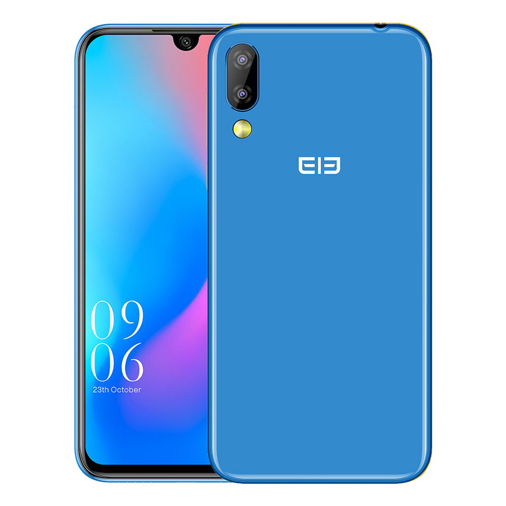 Original Elephone A6 Mini 4G Smartphone 5.71'' Android 9 MT6761 Quad Core 4GB RAM 64GB ROM Side Fingerprint 3080mAh Mobile Phone