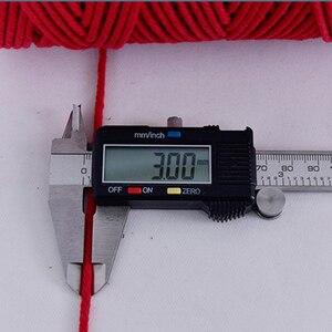Image 5 - 110 חצר 3mm מקרמה כותנה כבל צבעוני חבל בז מעוות קרפט DIY בית טקסטיל דקורטיבי אספקת מקרמה מחרוזת