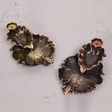 Тарелка для благовоний в виде листьев лотоса домашнее украшение