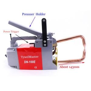 Image 3 - Maszyna do zgrzewania punktowego oporowego 230V/110V grubość spawania 1.5 + 1.5mm stalowa Plat CE przenośna zgrzewarka punktowa