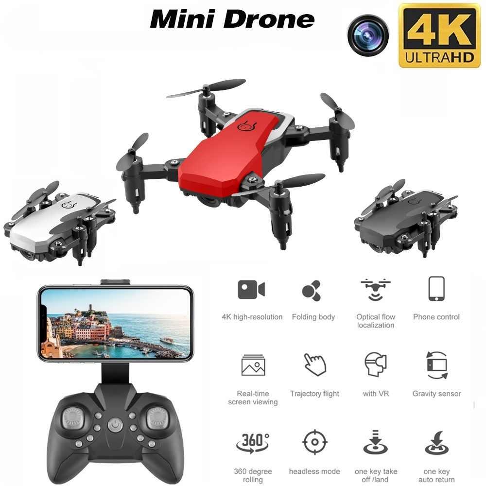 Mini Drone LF606 4K HD Kamera Faltbare Quadcopter One-Key-Rückkehr Drohnen FPV RC Hubschrauber Quadrocopter kinder spielzeug