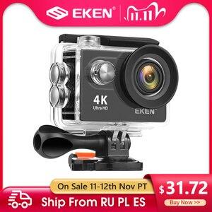 Image 1 - EKEN H9R H9 Action Camera Ultra HD 4K 30fps WiFi 2.0 inch 170D Underwater Waterproof Helmet Video Recording Cameras Sport Cam