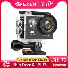 EKEN H9R H9 Экшн камера Ultra HD 4K 30fps WiFi 2,0 дюйма 170D Подводная Водонепроницаемая камера для видеозаписи на Шлем s Спортивная камера