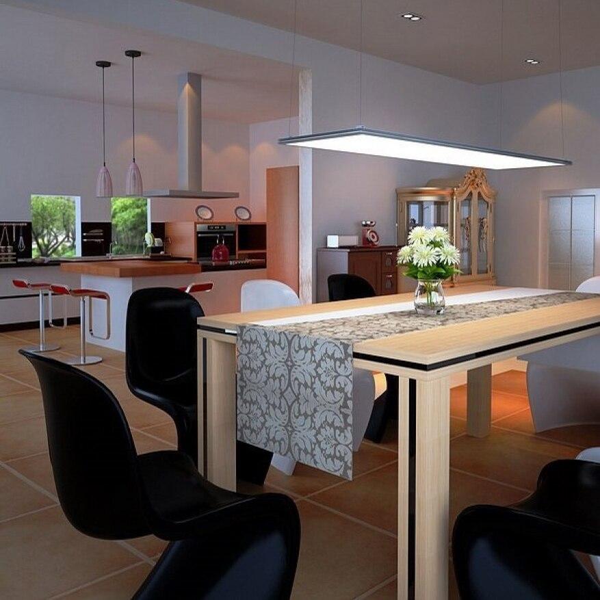 ThorX 60x60 cm Ultraslim LED Panel 36 W, 3000 Lm mit montage clips led treiber 100 240 V, kalt/warm/neutral weiß - 4