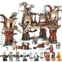 EWOK Village THE Star 05047 Set 1990pcs Building Blocks Toys Treetop Home Kids Bricks Toy 10236