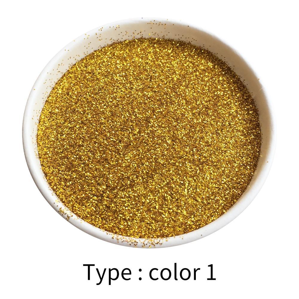 50g Gold Powder Coating Glitter Pigment Paint Powder For Paint Nail Decorations Automotive Paint Arts Crafts Mica Powder Pigment