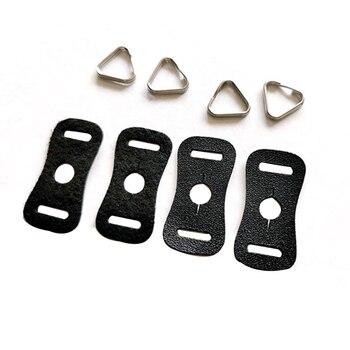 Защитный кожаный чехол ремень для камеры треугольник Сплит кольцо крюк для Fujifilm Canon Nikon sony Olympus Pentax DSLR камеры