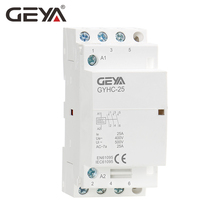 Free Shipping GEYA GYHC Din Rail 3P 25A 3NO AC Contactor Household Automatic Control 50/60Hz 220V Contactor недорого