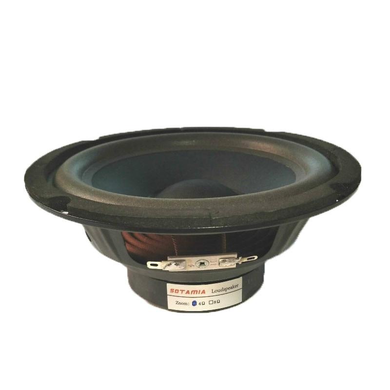 Sotamia 1 pçs 6.5 Polegada altavoz mid range woofer febre alto-falante 4 ohm 60 w baixo alto-falante sistema de som diy altifalante em casa teatro