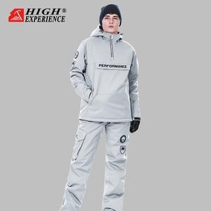Image 2 - Winter Suit Women Ski Suit Men Snowboard Jacket Women Sport Suit Ski Jacket Women Skiing And Snowboarding Snow Clothes Female