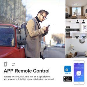 Image 3 - Itead Sonoff TH10 10A Wifi умный пульт дистанционного управления Переключатель датчик температуры и влажности монитор через eWeLink работает с Alexa IFTTT