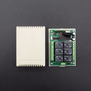 Image 5 - DC 12V 6 Channel Relay Module Wireless RF 433MHz Remote Control Switch Transmitter + Receiver Board