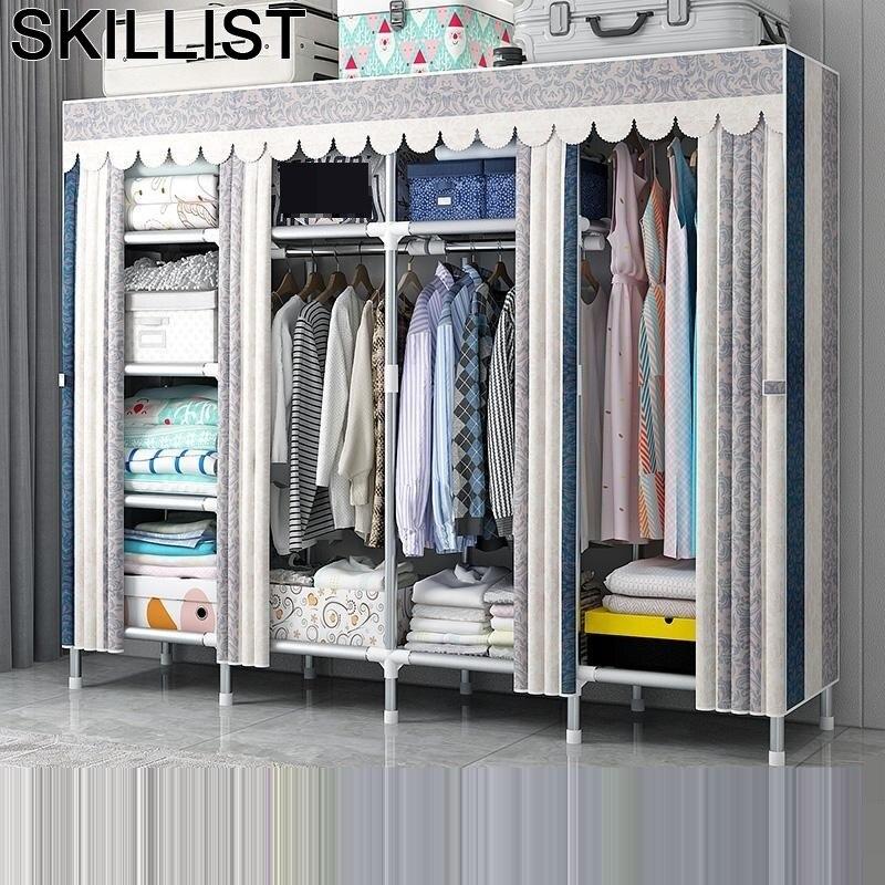 For Meble Gabinete Placard De Rangement Mobili Per La Casa Ropero Armario Tela Mueble Bedroom Furniture