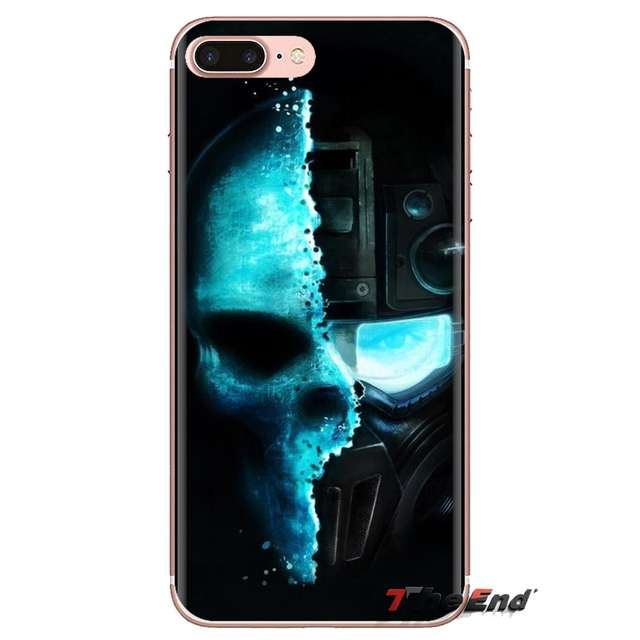 skull 3d hd wallpapers Soft TPU Phone Case For iPhone XS Max XR X 4