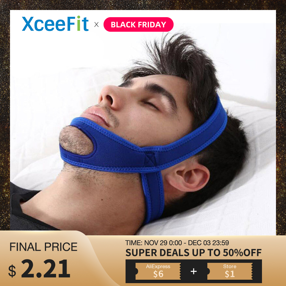 Anti Snoring Strap Stop Snoring Chin Strap Snoring Mouth Guard Snoring Treatment Snore Relieve For Sleeping Snoring Device Tool